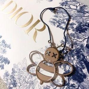 Auth. Dior Ultra Rare Dior x KAWS Bee Bag Charm